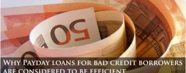 Payday loans for bad credit borrowers